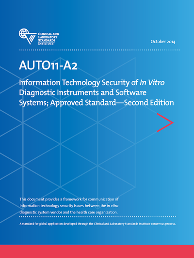 IT Security of In Vitro Diagnostic Instruments and Software Systems, 2nd Edition