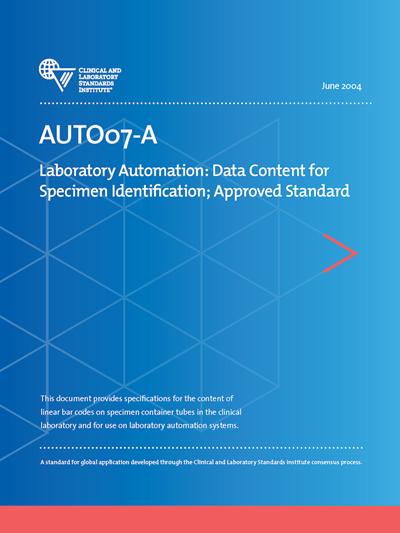 Data Content for Specimen Identification, 1st Edition