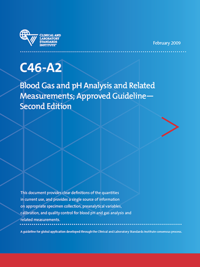 C46a2 Blood Gas Ph Analysis Related Measurements