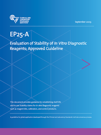Evaluation of Stability of In Vitro Diagnostic Reagents
