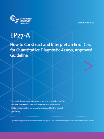 How to Construct and Interpret an Error Grid for Quantitative Diagnostic Assays, 1st Edition