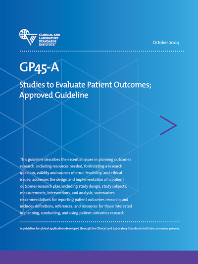 Studies to Evaluate Patient Outcomes, 1st Edition