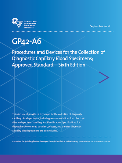 Gp42a6e Collecting Diagnostic Capillary Blood Specimen