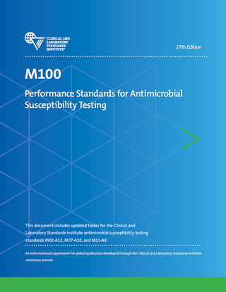 M100 Microbiology Standards Document from CLSI