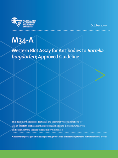Western Blot Assay for Antibodies to Borrelia burgdorferi, 1st Edition