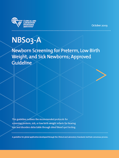 Newborn Screening for Preterm, Low Birth Weight, and Sick Newborns, 1st Edition