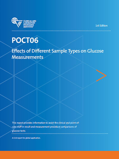 Effects of Different Sample Types on Glucose Measurements, 1st Edition