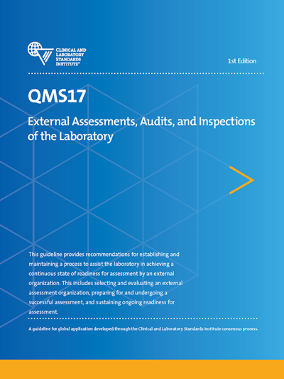External Assessments, Audits, and Inspections of the Laboratory, 1st Edition