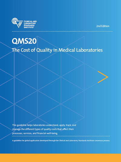 The Cost of Quality in Medical Laboratories, 2nd Edition