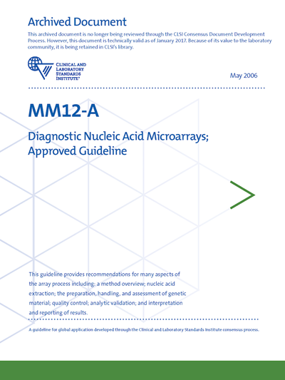 Diagnostic Nucleic Acid Microarrays, 1st Edition