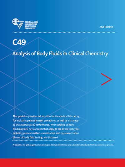 Analysis of Body Fluids in Clinical Chemistry, 2nd Edition