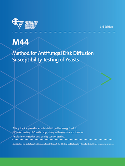 Method for Antifungal Disk Diffusion Susceptibility Testing of Yeasts, 3rd Edition