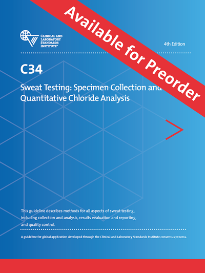 Sweat Testing: Specimen Collection and Quantitative Chloride Analysis, 4th Edition