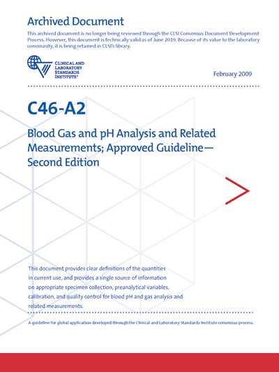 Blood Gas and pH Analysis and Related Measurements, 2nd Edition