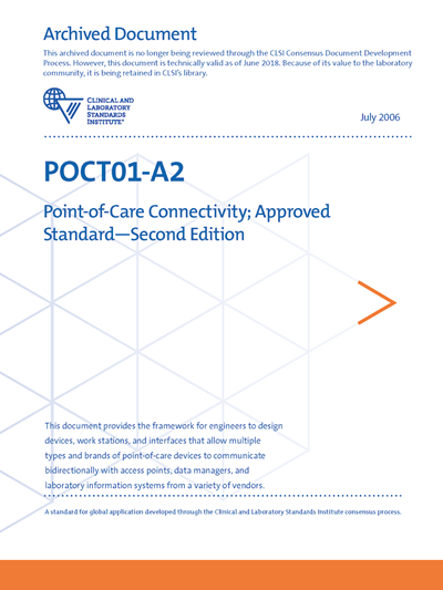 Point-of-Care Connectivity, 2nd Edition