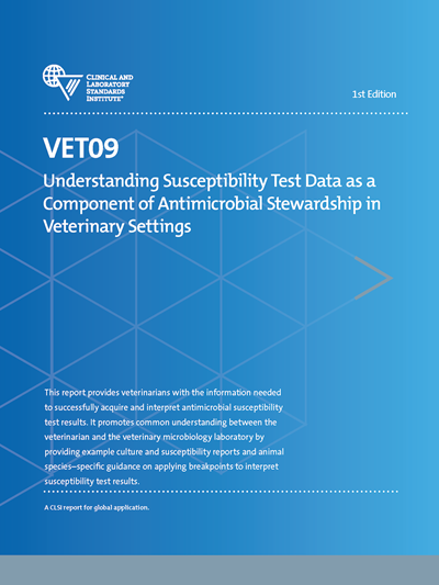 Understanding Susceptibility Test Data as a Component of Antimicrobial Stewardship in Veterinary Settings, 1st Edition