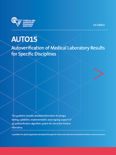 Autoverification of Medical Laboratory Results for Specific Disciplines, 1st Edition