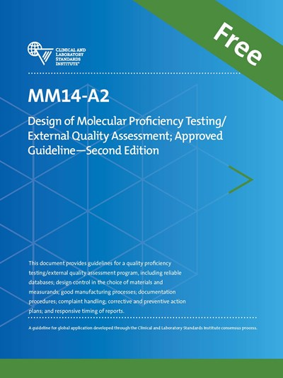 Design of Molecular Proficiency Testing/External Quality Assessment, 2nd Edition