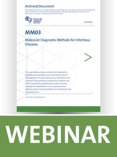 MM03 Overview: Molecular Diagnostic Methods for Infectious Diseases