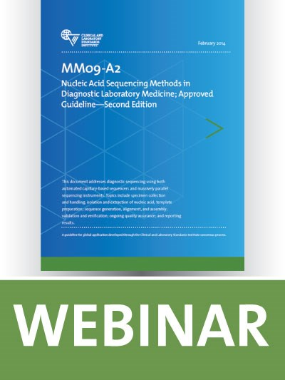 MM09 Overview: Nucleic Acid Sequencing Methods in Diagnostic Laboratory Medicine