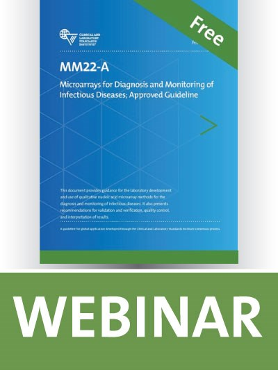 MM22 Overview: Microarrays for Diagnosis and Monitoring of Infectious Diseases