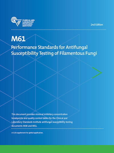 Performance Standards for Antifungal Susceptibility Testing of Filamentous Fungi, 2nd Edition