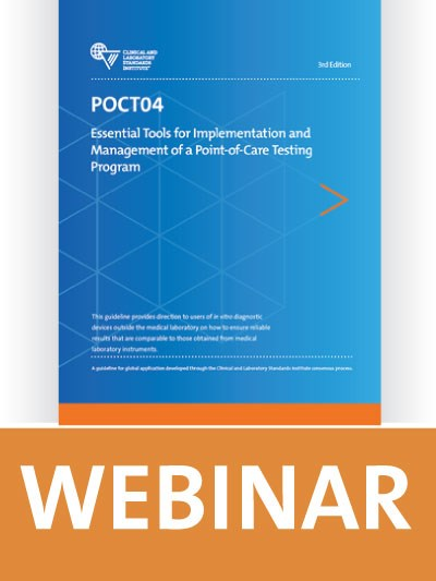 Essential Tools for Implementation and Management of a Point-of-Care Testing Program