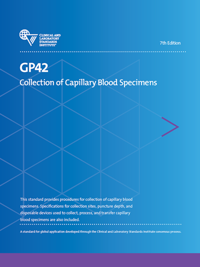 Collection of Capillary Blood Specimens, 7th Edition