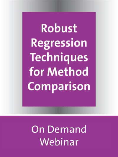 Robust Regression Techniques for Method Comparison